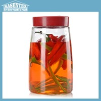 high quality pickles jar glass container for pickled vegetables glass food jar