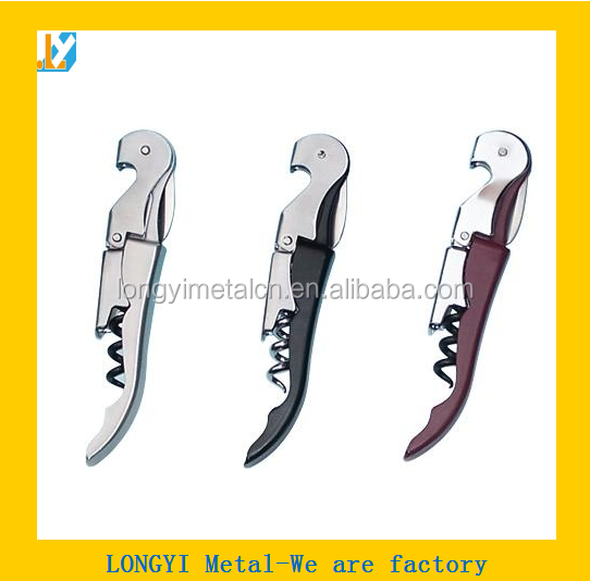 High Quality Stainless Steel Corkscrew Wine Opener&Wine Bottle Opener