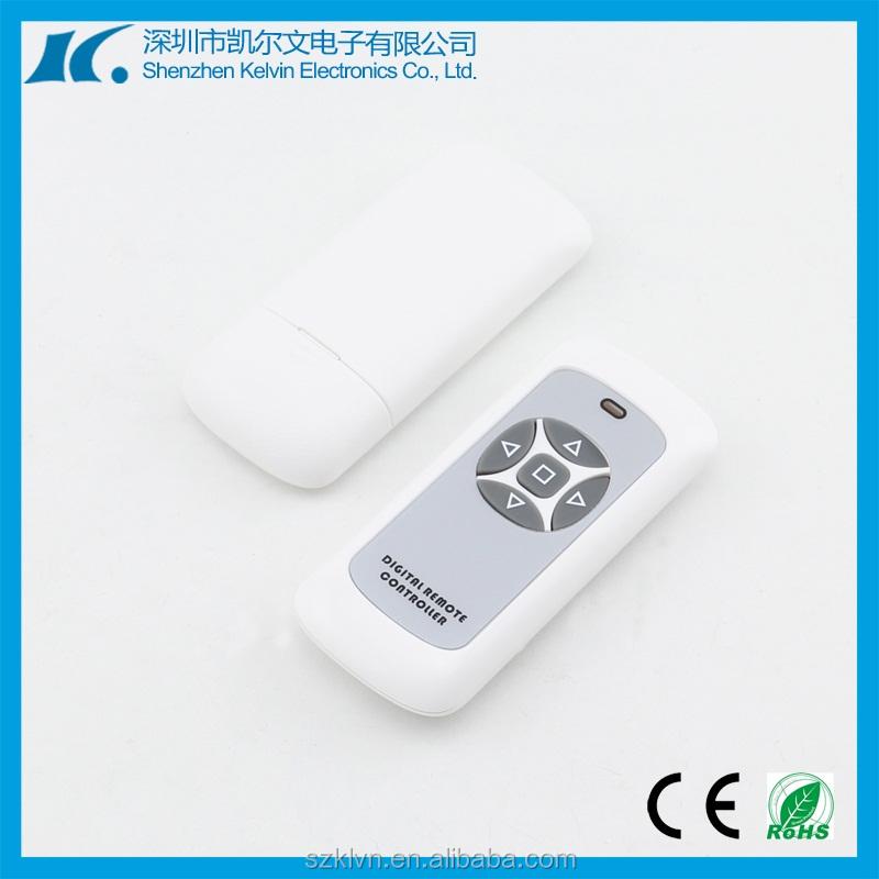 DC12V Learning code 433.92MHZ universal rf remote control of sliding garage door KL600-5