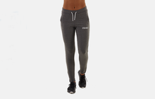 WOMEN FIT BOTTOMS - CHARCOAL/WHITE