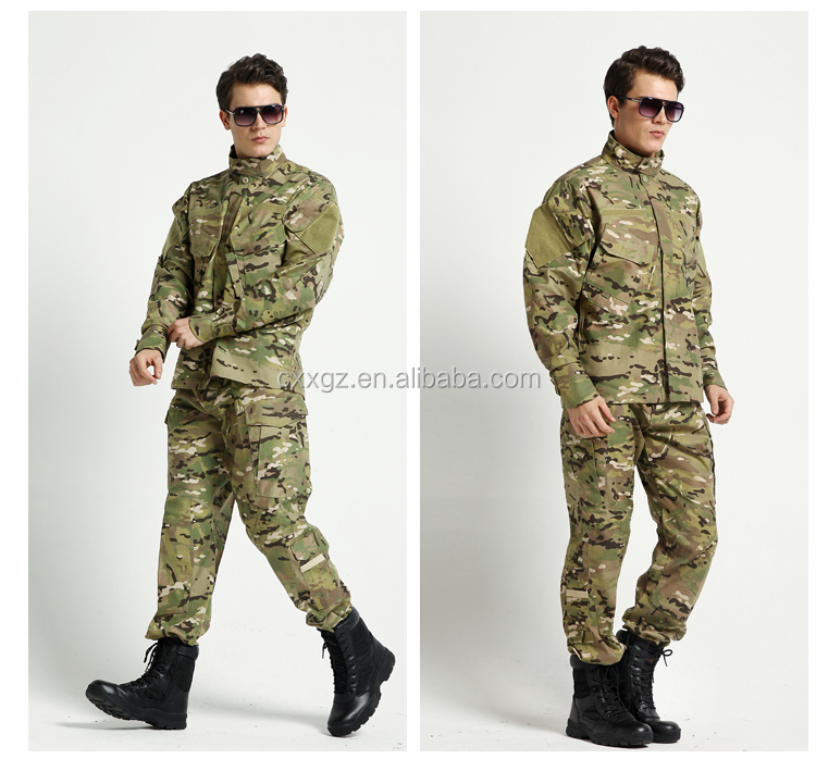 High quality New Pattern military ACU uniform camouflage combat suit