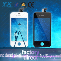 FREE GIFT! mobile phone color lcd display for iphone 4s with touch screen