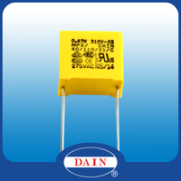 Good and high quality X2 capacitor for used in electronic power transformer