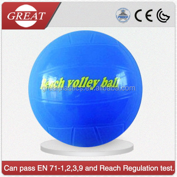 plastic sport ball for beach