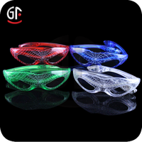 2015 Most Popular With CE,RoHS Approval Spiderman Shaped Led Flash Glass