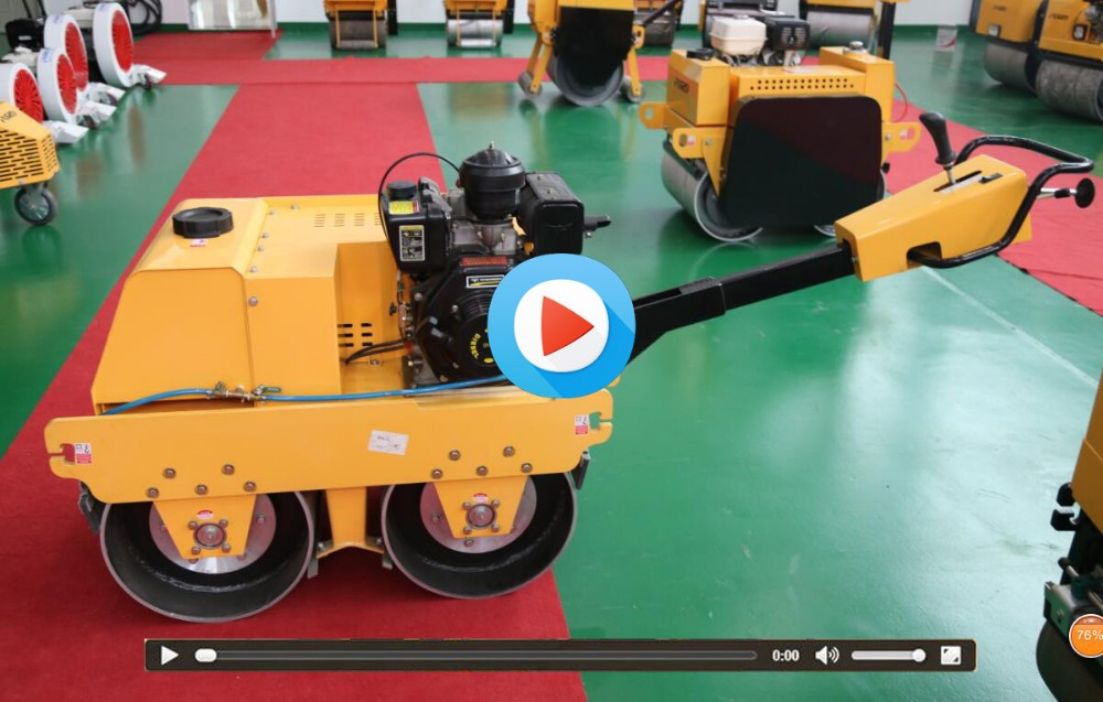 Light construction equipment walk behind roller (FYLJ-S600C)