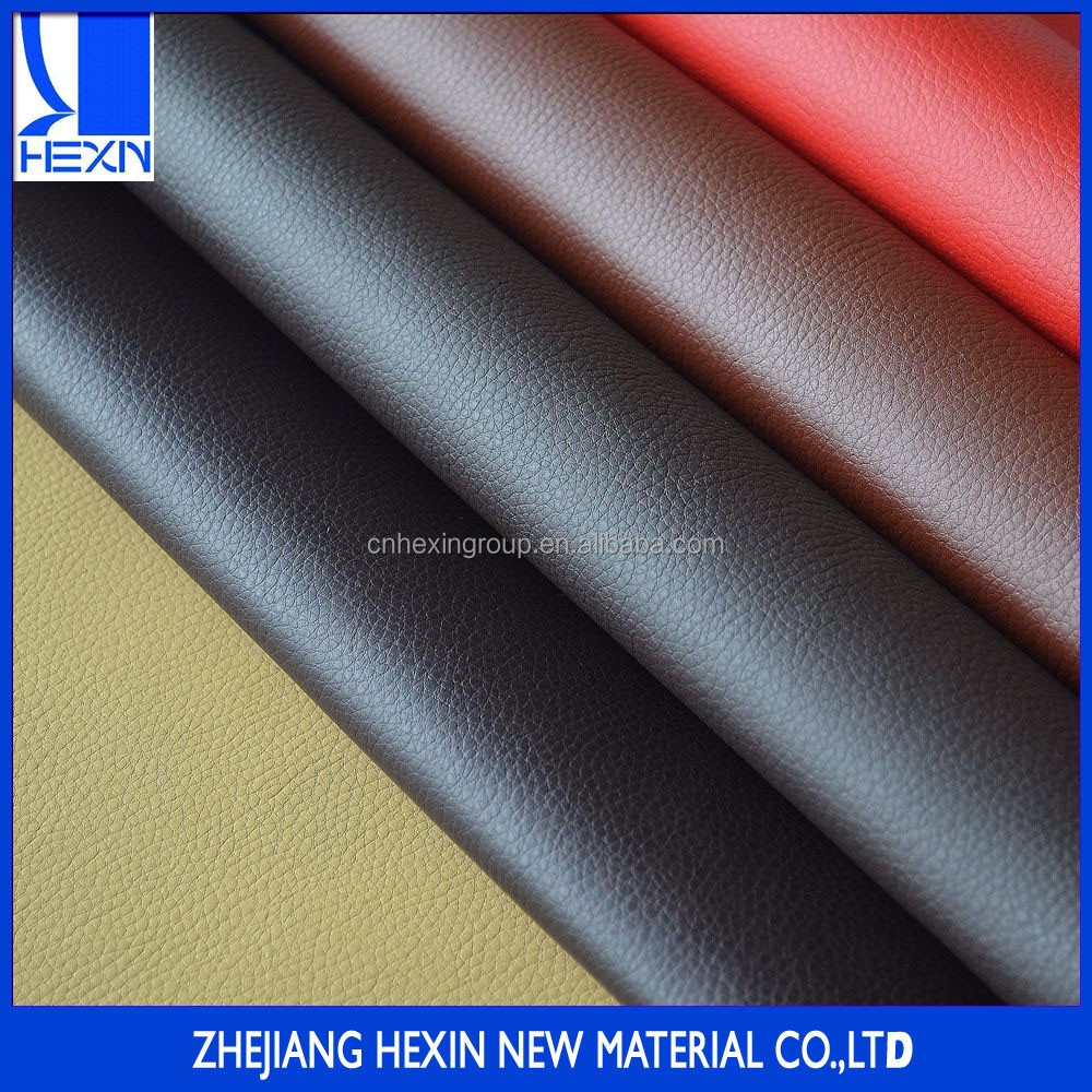 Hot sales 0.8mm furniture leather pu synthetic leather for furniture decoration with sofa econa solvent free