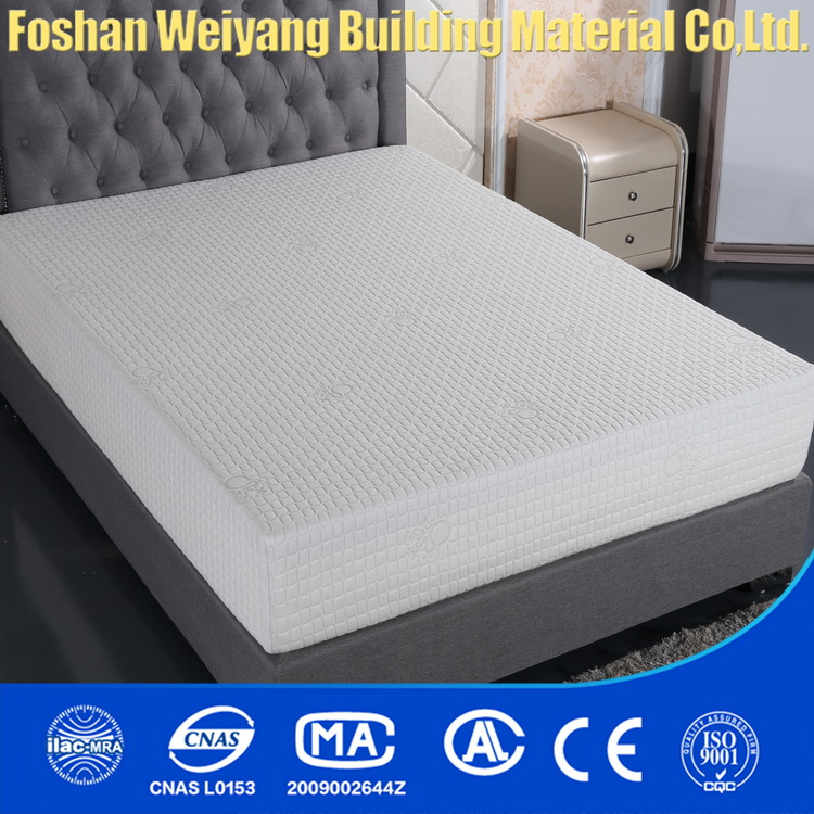 WSF787 Low price memory foam mattress/scrap foam/royal comfort mattress