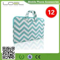 New arrived wholesale canvas handbag china for macbook pro air retina mobile phone carry bag CS-AV770(1)