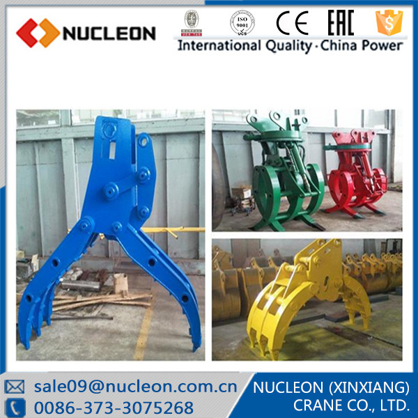 Low Cost Demolition Excavator Grab Chinese Excavator Grab For Logs