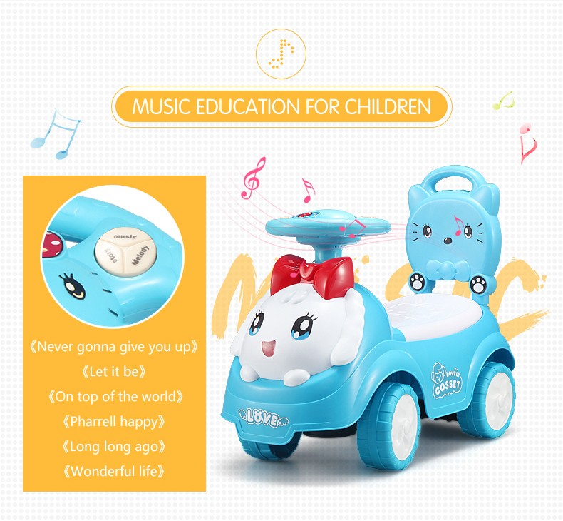 2017 newest plastic best gift battery powered electric ride on car for children