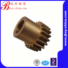 Shenzhen factory wholesale Brass gears suppliers precision