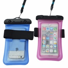 2018 Hot Swimming Floating TPU IPX8 Waterproof case For Touch Screen Outdoor and Underwater