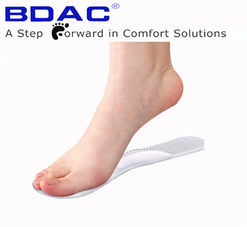 High heel lady shoe arch support gel cooling customized half insole