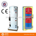 200L CE approved Double coil stainless steel unvented hot water cylinder