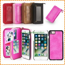 PU Leather Wallet Case Cell Phone Lady Handbag Case for iPhone 7