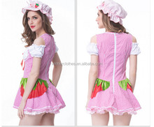 2017 2016 Newly Hot Cosplay Party Black Maid Costume ladies sexy lingerie sleepwear xxl
