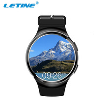 New Products CE RoHS Android 4G 3G Smart Watch Mobile Phone With Heart Rate Monitor GPS SOS Video Chat