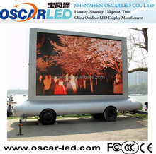 Customized truck/bus mobile free china sexi movies/hd video outdoor advertising led display