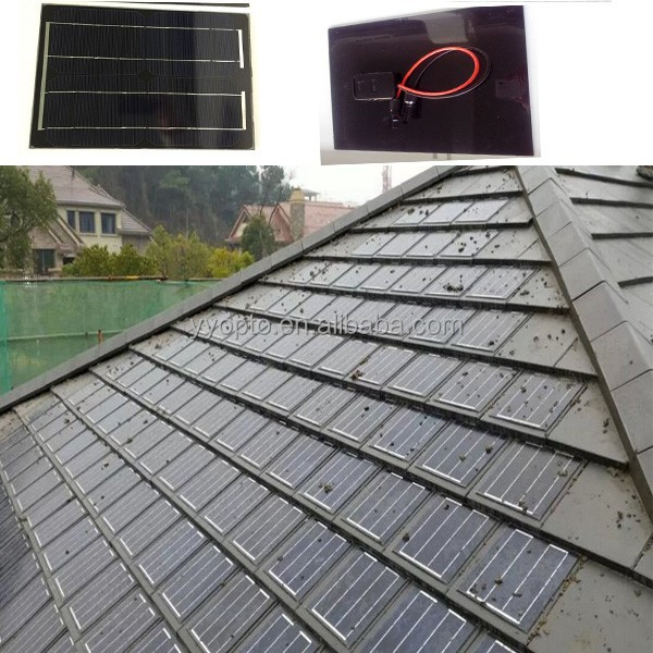 Noise resistance roofing tile/Solar panel roof tile for villa building