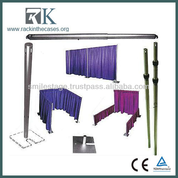 2013 RK telescopic adjustable pipe and drape -stage backdrops