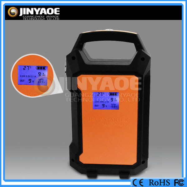 Almighty Starter Power! start 12V&24V car, bus, truck, construction machinery vehicles diesel car jumper power bank
