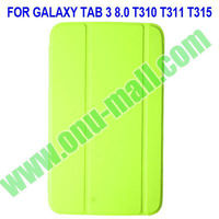 Offical Stand Leather Case For Samsung Galaxy Tab 3 8.0 T310 T311 T315 with Auto Wake Up Function