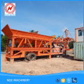 2017 Hot sale heavy duty self loading mobile concrete mixer