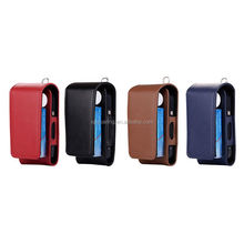 Electronic Cigarette Leather Case for IQOS, Flip PU case for IQOS