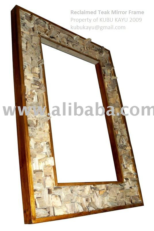 Reclaimed Teak Mirror Frame