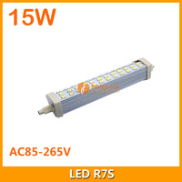 Wholesale CE ROHS 189mm R7S LED Corn Light Bulb Lamp 5050 SMD R7S 15W 85~265V warranty 3 years