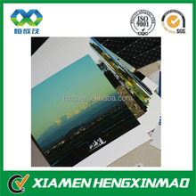 2014 High Definition natural photography 3D lenticular PET postcard