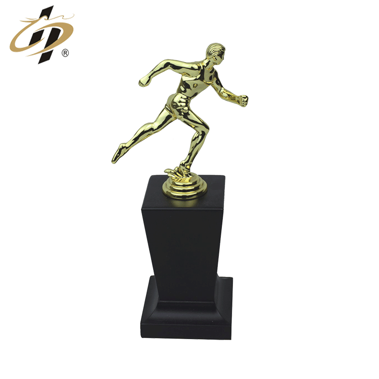 China original factory supply gold metal football award trophy cup