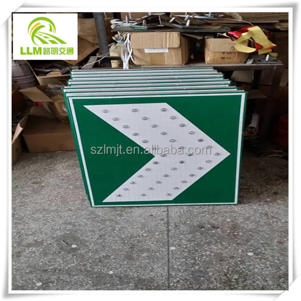 Durable roadsafety Plate Solar Traffic Sign