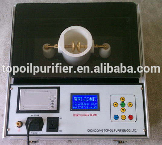 Transformer Oil Test/High Voltage Breakdown Tester Equipment/Dielectric Breakdown Voltage Test Sets