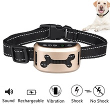 No Bark Collar [2017 Upgrade Version] Rechargeable Dog Barking Control Training Collar Beep / Vibration / Safe Shock