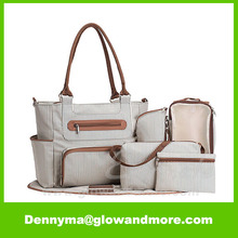 Best Selling Custom 7 pieces Baby Diaper Bag