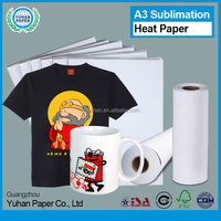 High glossy a3 size wholesale self cutting large format sublimation heat transfer printing paper