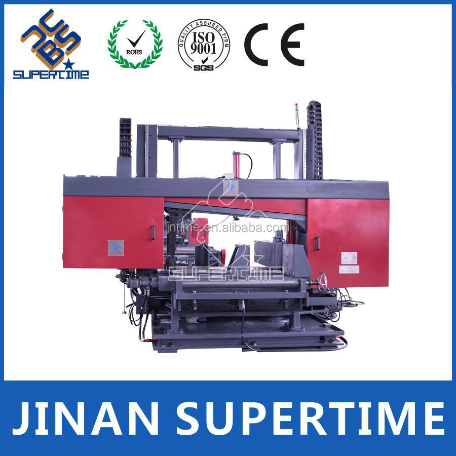 CNC steel beam band saw cutting machine
