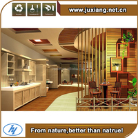 Water/insect proof home decoration wood and plastic ceiling