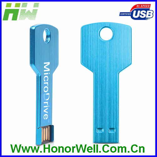 Key shape keychain key usb full capacity Waterproof Metal Key Memory Stick 2GB/4GB/8GB/16GB/32GB/64GB Usb Flash Drive