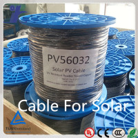 TUV certificated UV resistant single core solar pv cable solar cell for sale