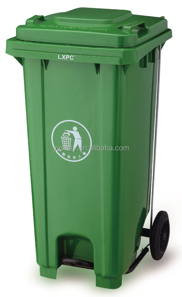 how to clean my garbage bin