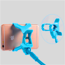 Flexible Mobile Phone holder Long Arm Mount Bracket Stand Lazy Self Camera Clip