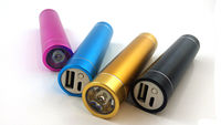 2800mah battery charger power bank Power Bank With LED Torch