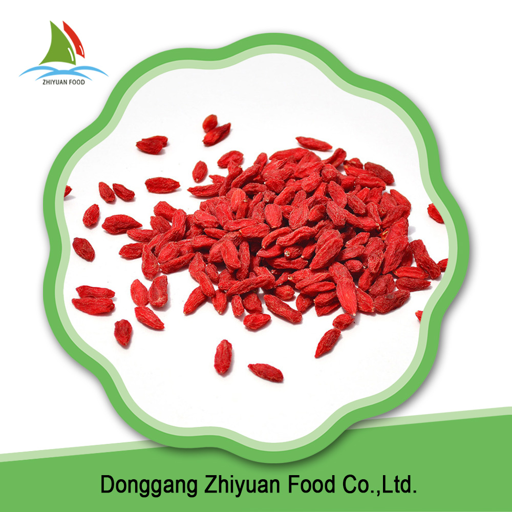 Most popular new crop certified organic goji berry goji fruit