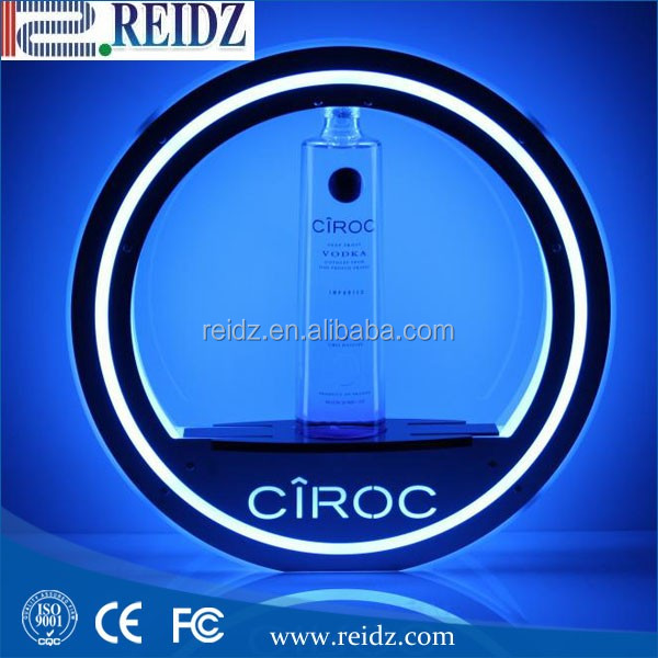 Cheap price custom various wine led lighted bottle base
