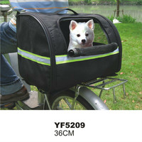 2016 New Fashion Various Size Wholesale Pet Bicycle Basket