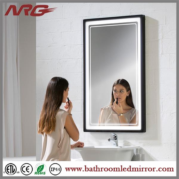 Decoraci n ba o marco espejo redondo espejos for Decoracion marco espejo