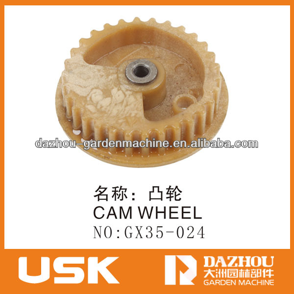 GX35 brush cutter spare parts grass trimmer cam wheel